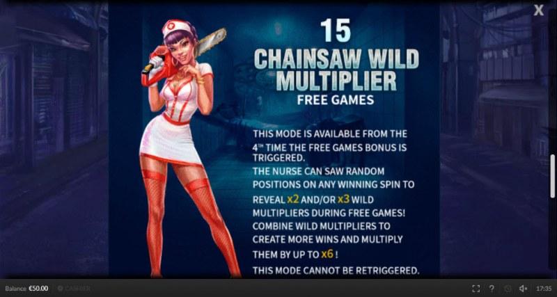 4 Femme Fatales :: Chainsaw Wild Multiplier