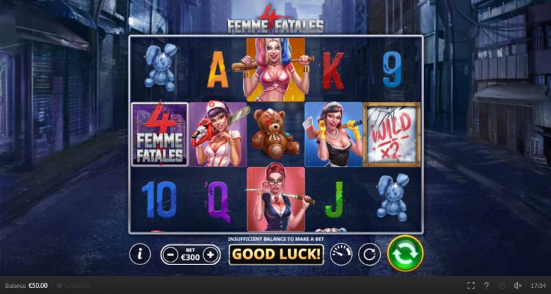 4 Femme Fatales :: Main Game Board