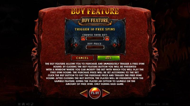 4 Horsemen II :: Buy Feature