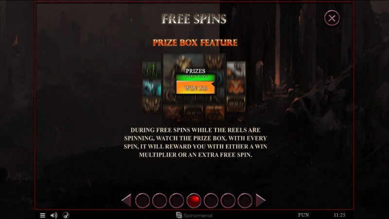 4 Horsemen :: Free Spins Rules