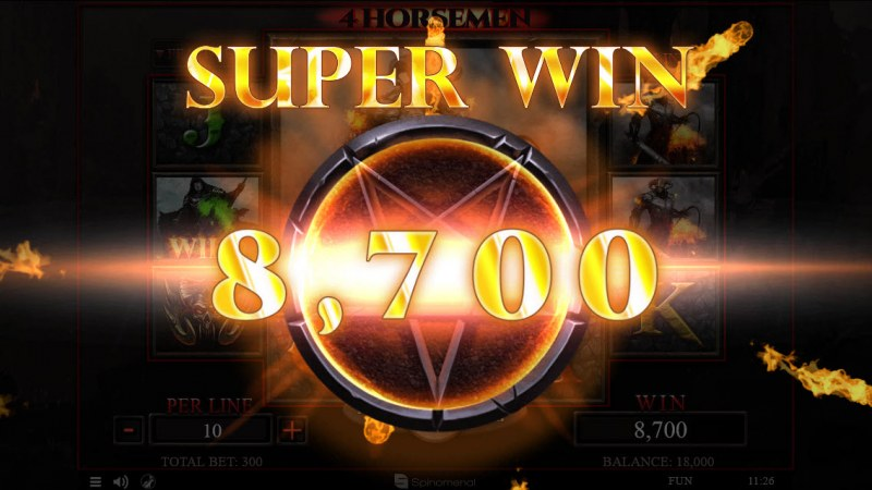 4 Horsemen :: Super Win