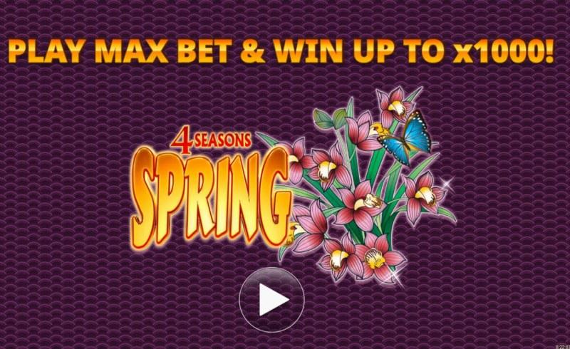 4 Seasons Spring :: Introduction