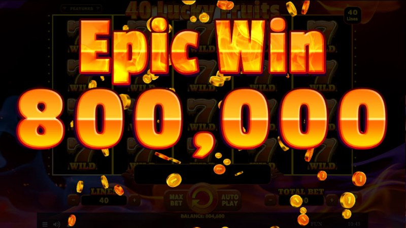 40 Lucky Fruits :: Epic Win