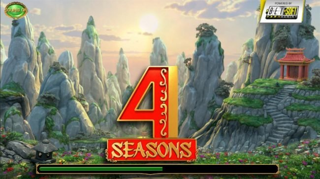 MyBcasino featuring the Video Slots 4 Seasons with a maximum payout of $50,000