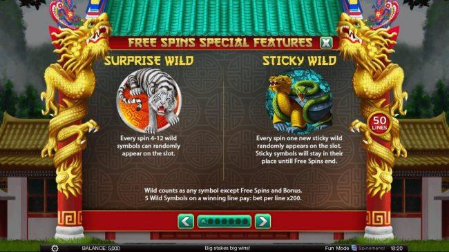 4 Winning Directions :: Wild Symbol Rules