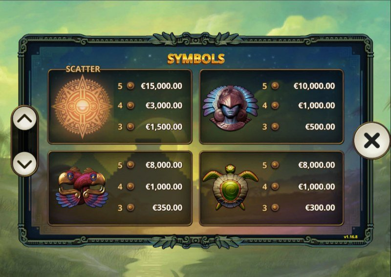 5 Ages of Gold :: Paytable - High Value Symbols