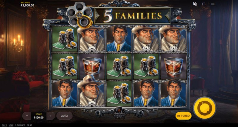 5 Families :: Main Game Board