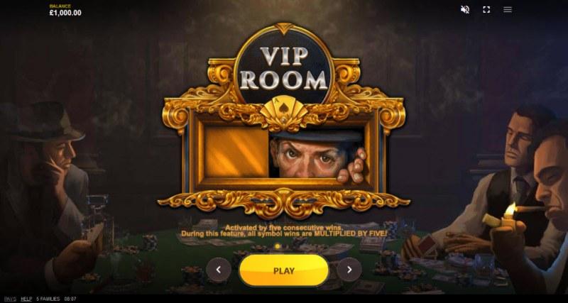 5 Families :: Bonus Game Rules
