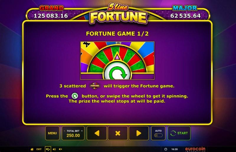 5 Line Fortune :: Bonus Feature
