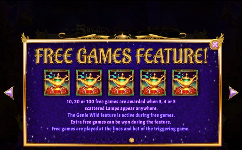 5 Wishes :: Free Games Feature