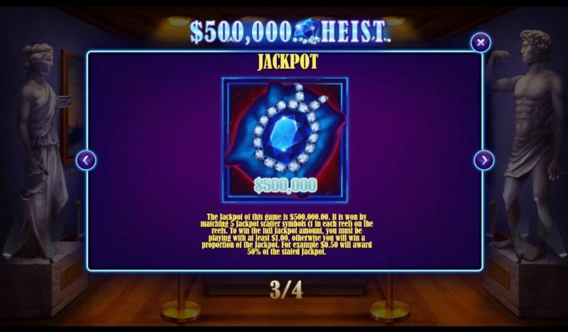 500K Heist :: Jackpot Rules