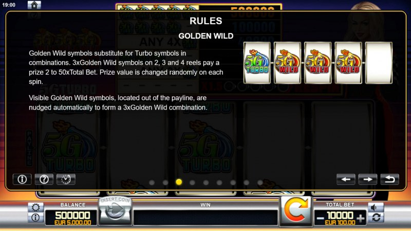 5G Turbo :: Golden Wild