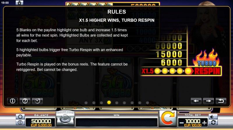 5G Turbo :: Turbo Respin