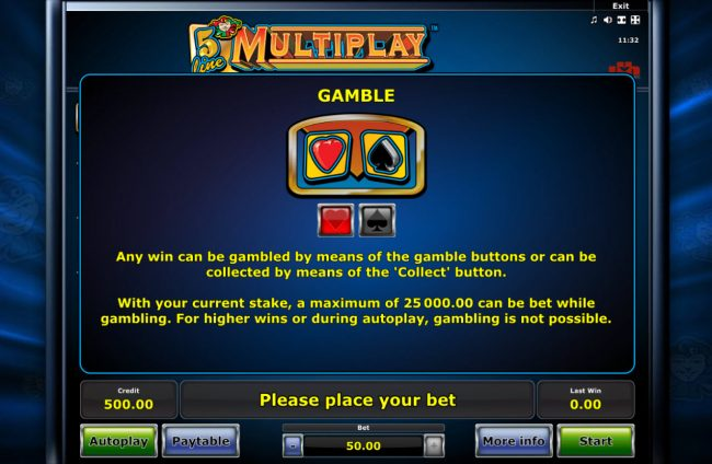 Quasar featuring the Video Slots 5 Line Mutiplay with a maximum payout of $25,000