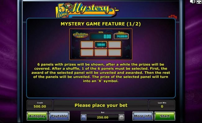 Mystery Game Rules Part 1