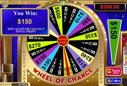 Red Stag featuring the Video Slots Wheel of Chance 5 Reel with a maximum payout of $80,000