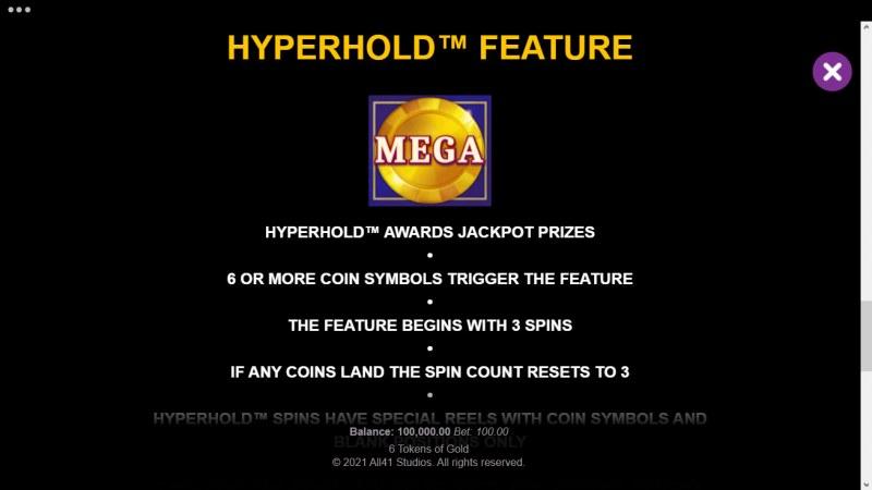 6 Tokens of Gold :: Hyperhold