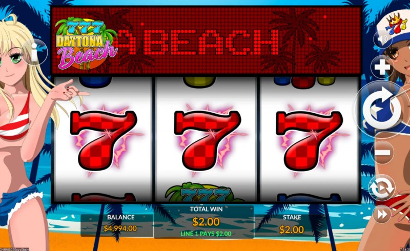 777 Daytona Beach :: Three of a kind