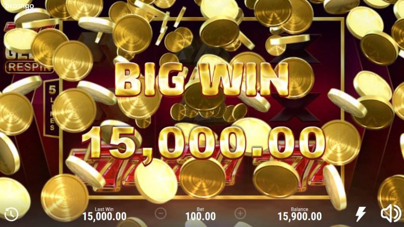 777 Gems Respin :: Big Win