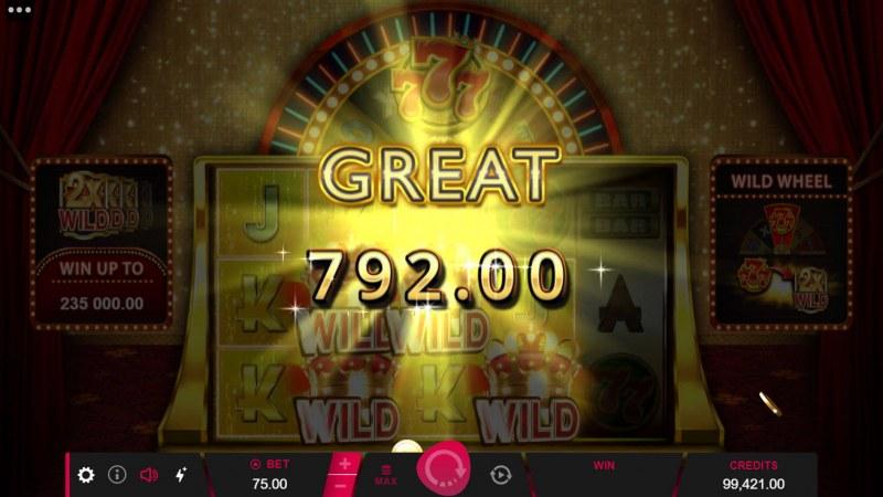 777 Royal Wheel :: Big Win
