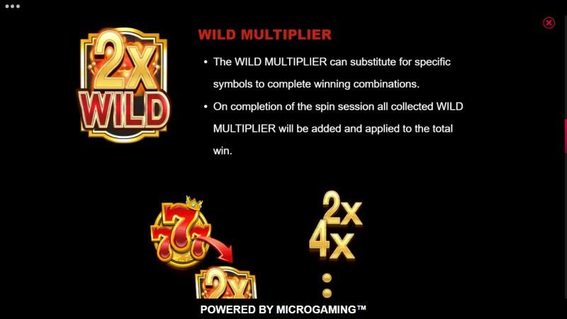 777 Royal Wheel :: Wild Multiplier