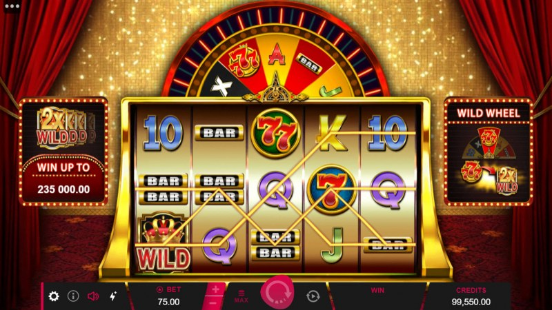 777 Royal Wheel :: Multiple winning paylines