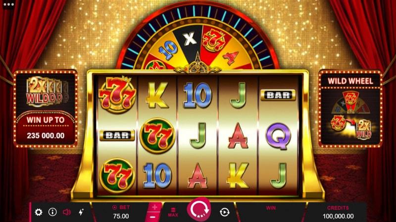 777 Royal Wheel :: Main Game Board