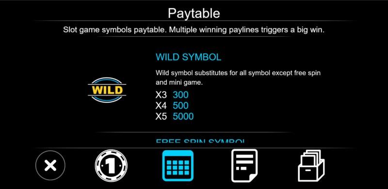 777 Slot :: Wild Symbol Rules