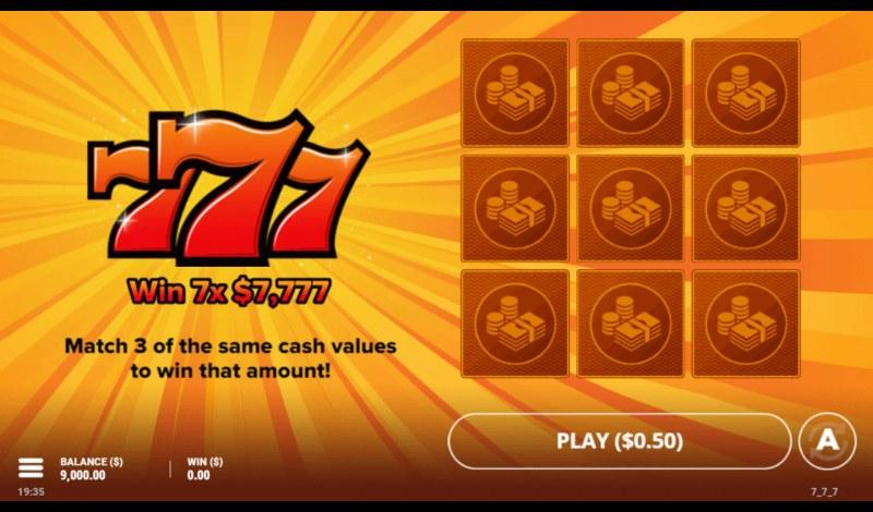 777 :: Main Game Board