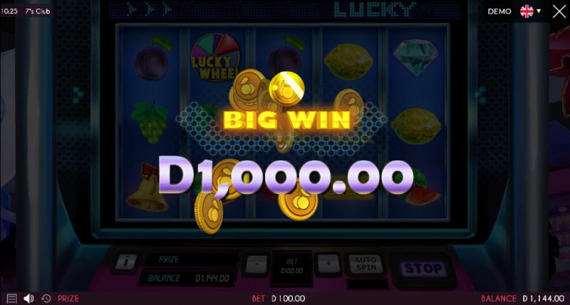 7's Club :: Total bonus payout