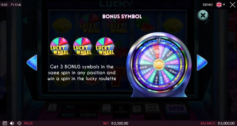 7's Club :: Bonus Game Rules