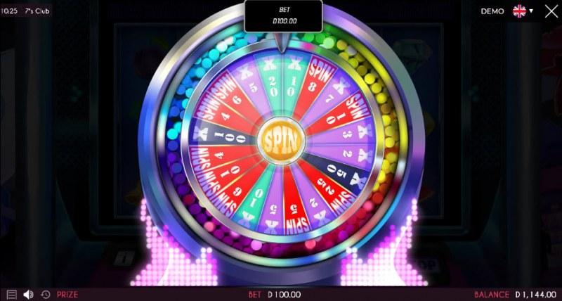 7's Club :: Bonus Wheel