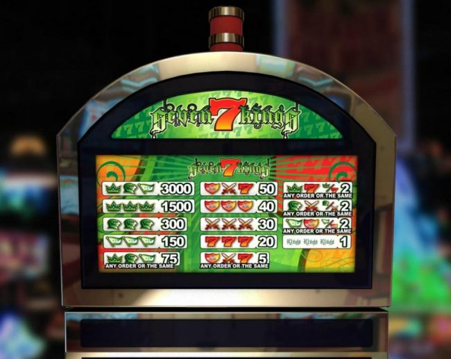 Elegant VIP featuring the Video Slots 7 Kings with a maximum payout of $15,000