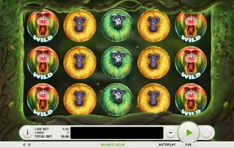 Play slots at Winward: Winward featuring the Video Slots 7 Monkeys with a maximum payout of $7,500