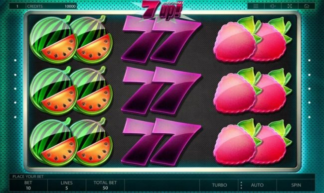Play slots at Melbet: Melbet featuring the Video Slots 7UP! with a maximum payout of $100,000