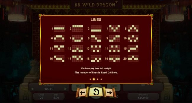 Play slots at Cyber Spins: Cyber Spins featuring the Video Slots 88 Wild Dragon with a maximum payout of $5,000
