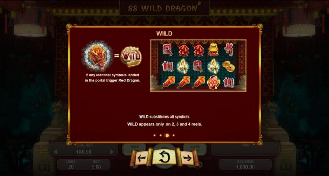 Spintropolis featuring the Video Slots 88 Wild Dragon with a maximum payout of $5,000