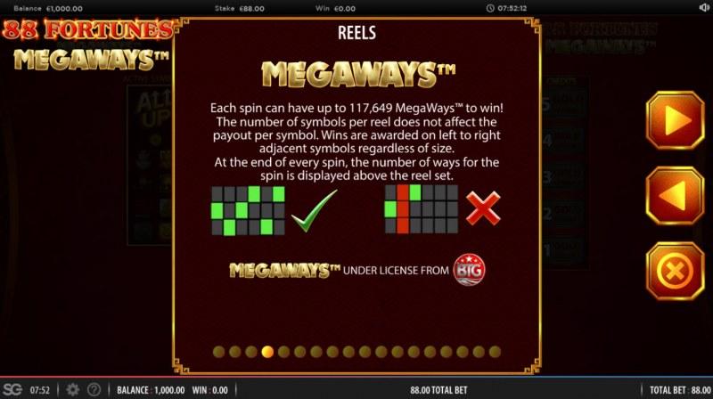 88 fortunes Megaways :: Megaways
