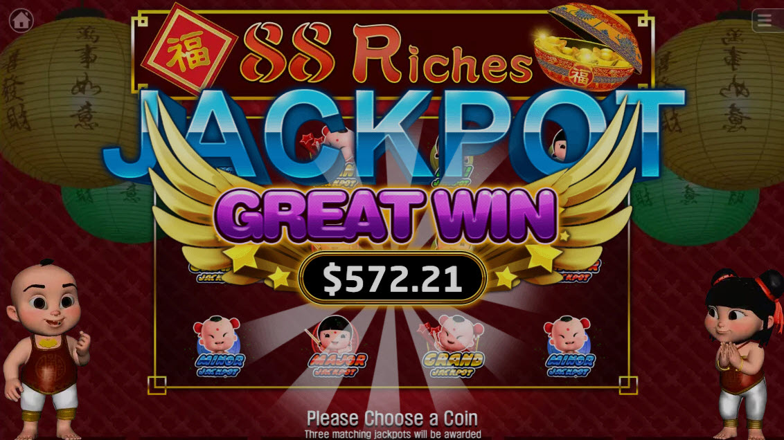 88 Riches :: Mini Jackpot Awarded