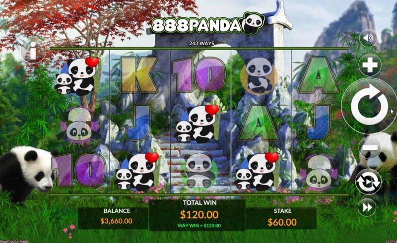 888 Panda :: Four of a kind