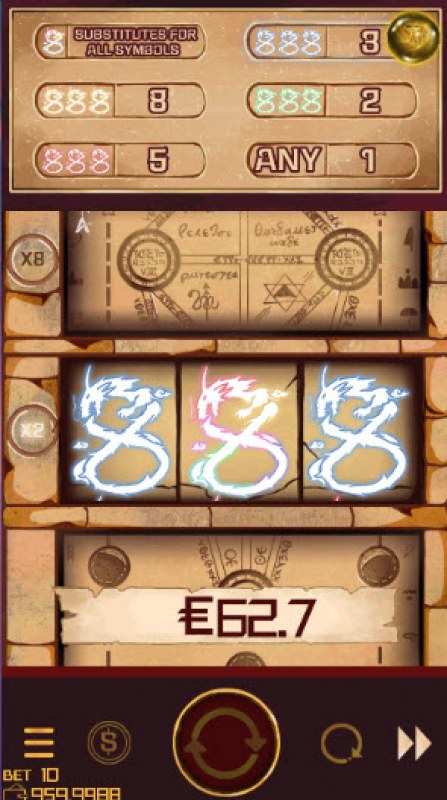 888 Tower :: Three of a kind win