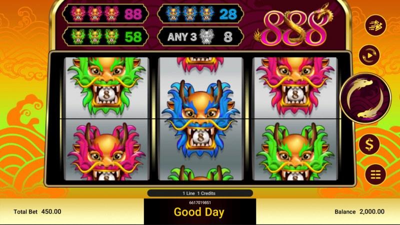 888 :: Main Game Board