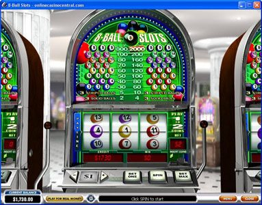 Play slots at Casino BTC: Casino BTC featuring the Video Slots 8-Ball Slots with a maximum payout of $400,000