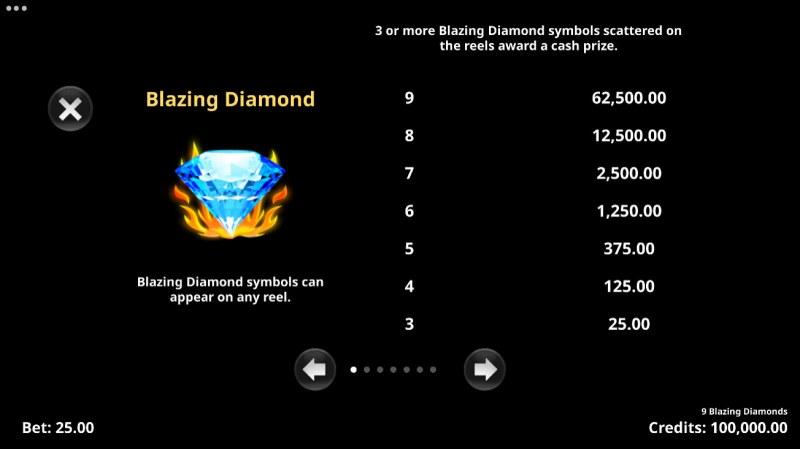 9 Blazing Diamonds :: Blazing Diamond