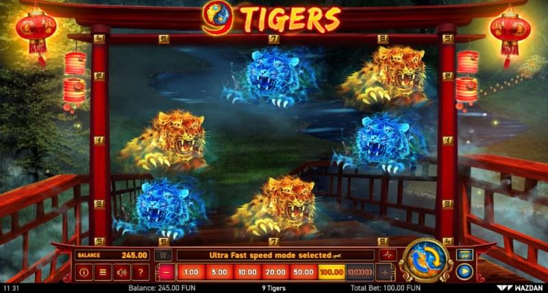 9 Tigers :: Main Game Board