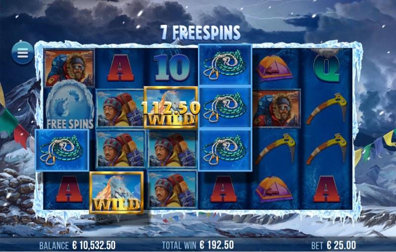 9K Yeti :: Multiple winning combinations