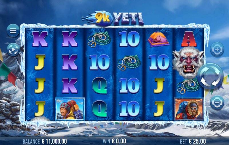 9K Yeti :: Main Game Board