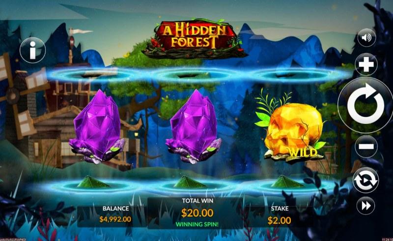 A Hidden Forest :: A winning 3 of a kind