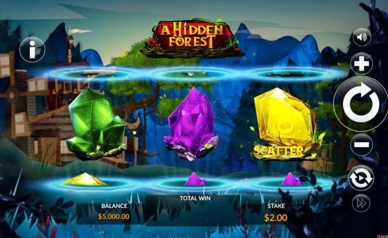 A Hidden Forest :: Main Game Board