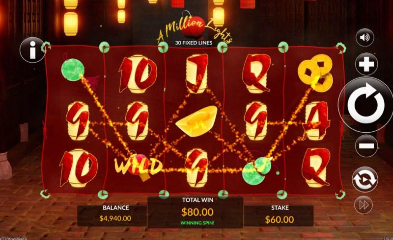 A Million Lights :: Multiple winning paylines